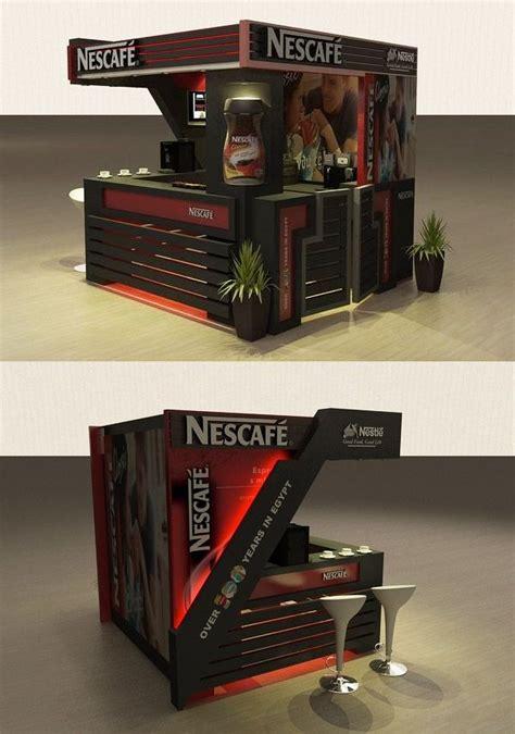 kiosk design on pinterest kiosk pos display and digital point of purchase pdv posm nescafe kiosk by mostafa