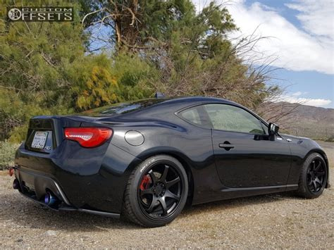 frs car black 2013 scion fr s xxr 551 eibach lowering springs