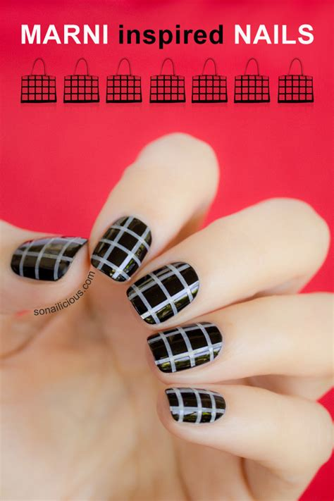 Fashion Nails marni inspired fashion nails