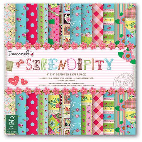 Dove Craft Paper - dovecraft serendipity 8x8 fsc paper pack