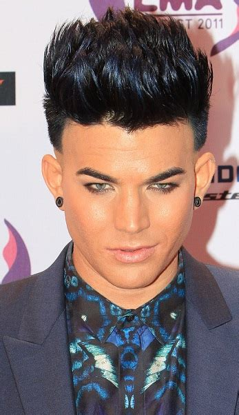 how to hair style your hair like adam levine hair and beard styles adam lambert s short spiky