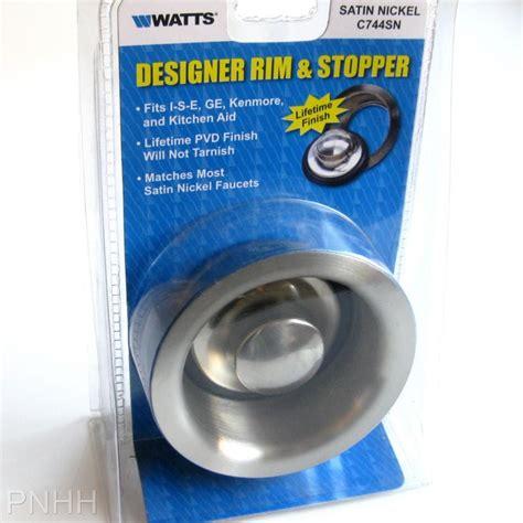 ge garbage disposal sink flange stainless steel sink flange stopper kenmore ise