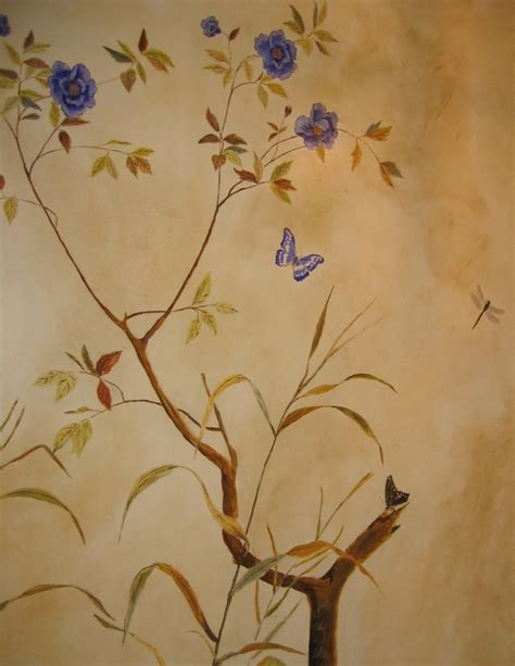 Hand Painted Wall Mural hand painted wallpaper mural jess arthur mural artist