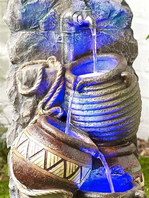 pouring pot wall easy fountain waterfeaturescom