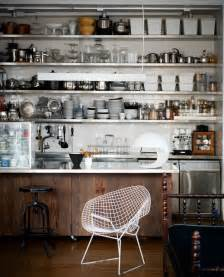 industrial kitchen shelves the glass farmhouse loft industrial kitchen other