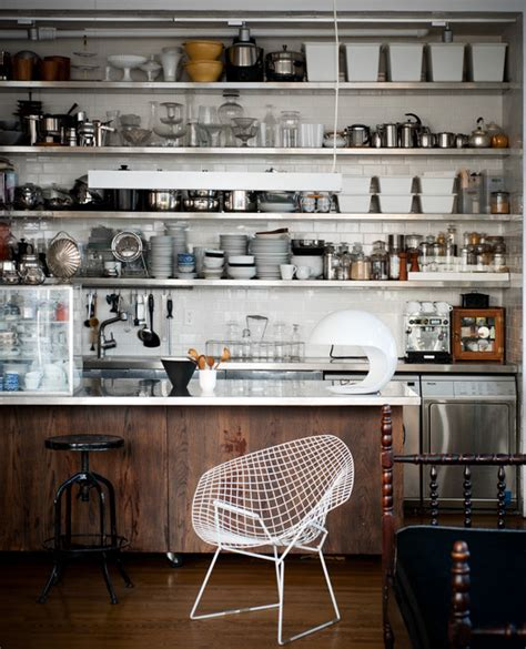 the glass farmhouse loft industrial kitchen other