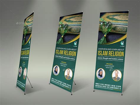 design banner islamic islamic advertising bundle by owpictures graphicriver
