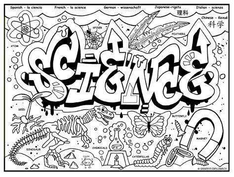 science coloring pages pdf coloring pages science free draw to color
