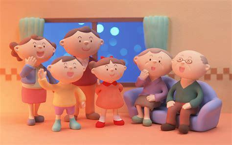 wallpaper cartoon family cartoon family background 1680x1050