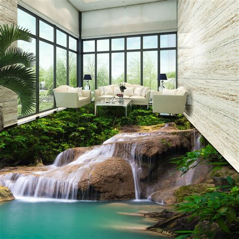 Bedroom Waterfall by