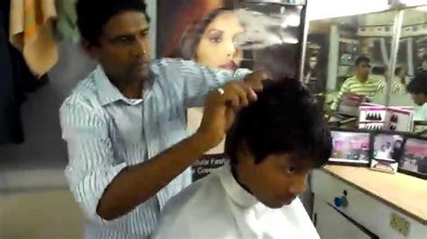 billywood hair dressing best hair stylist in hyderabad youtube