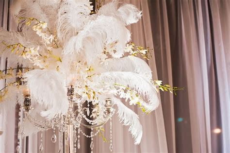ostrich feather chandelier ostrich feather centerpieces on chandelier candelabra with crystals orchids for lord balaram