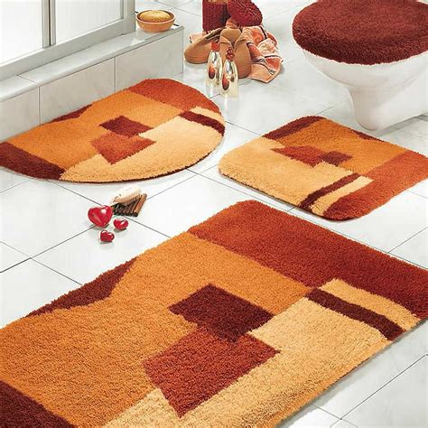 Astounding bathroom rug sets decor ideas with neutral brown throw rugs