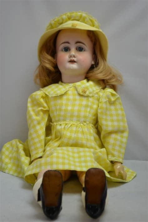 what is a bisque doll made of german bisque doll made by armand marseille