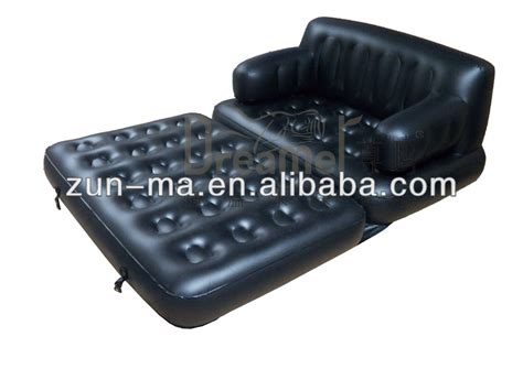 5 in 1 inflatable sofa bed flocked 5 in 1 multifunctional double blow up inflatable