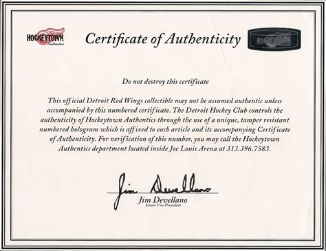 certificate of authenticity autograph template when does your letter of authenticity matter gameworn us
