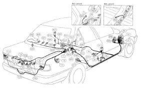 nissan pulsar wiring diagram and electrical system