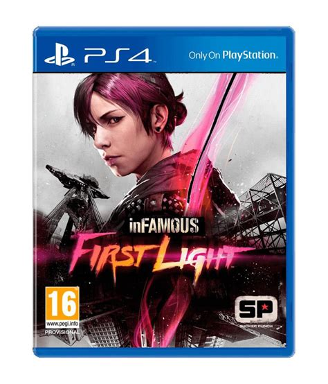 ps4 themes infamous infamous first light ps4 available at snapdeal for rs 1399