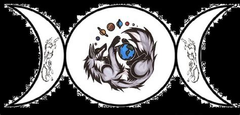 wicca spirit of the wolf by zinawalker on deviantart