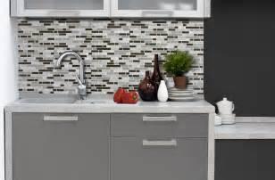 Kitchen Backsplash Tiles Canada - inspirations photos un carrelage mural adh 233 sif pour la cuisine smart tiles