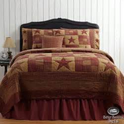 country rustic western cal king quilt