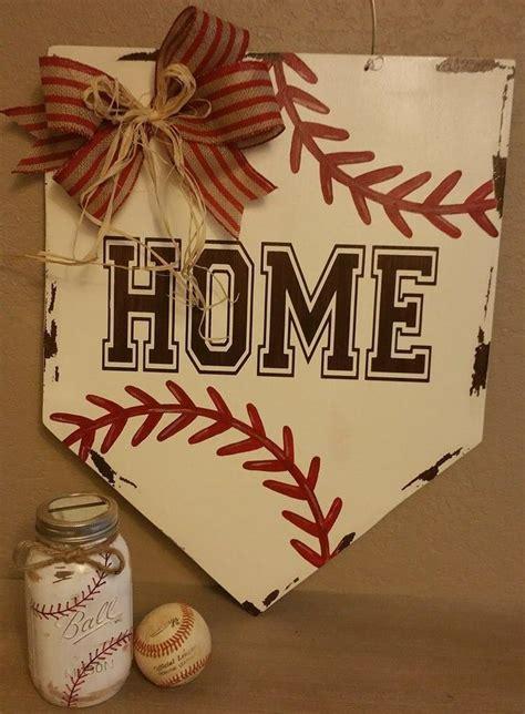door wreath hanger homebase baseball home base door hanger springtime and summer door