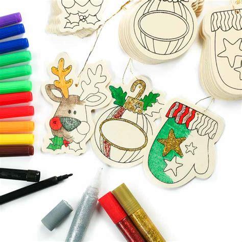 ornament craft kits wood cutout ornaments kid s craft kit craft kits