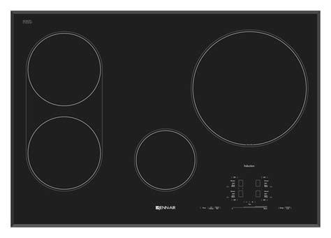30 Induction Cooktop Jic4430xb Jenn Air 30 Quot Ceramic Induction Cooktop Black On