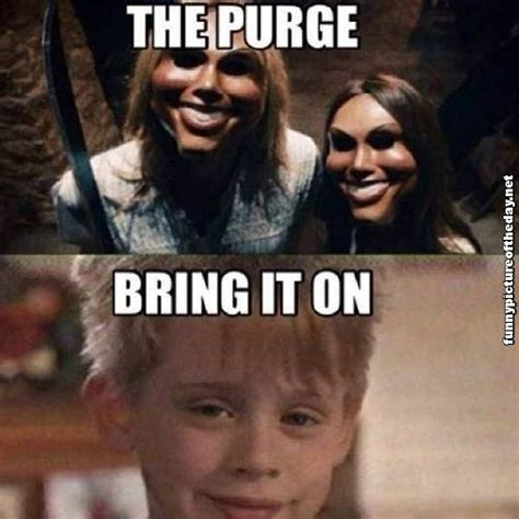 Funny Home Alone Memes - the purge quotes quotesgram