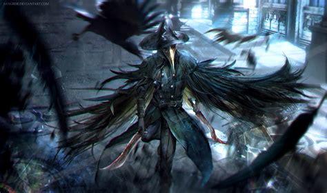 bloodborne crow dagger warrior game hd games