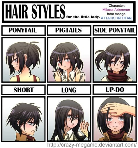 Crazy Hair Meme - the gallery for gt attack on titan mikasa memes