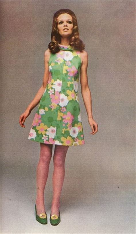 Dress Vintage Motif Print Burung 487 best images about vintage fashion 1960s on