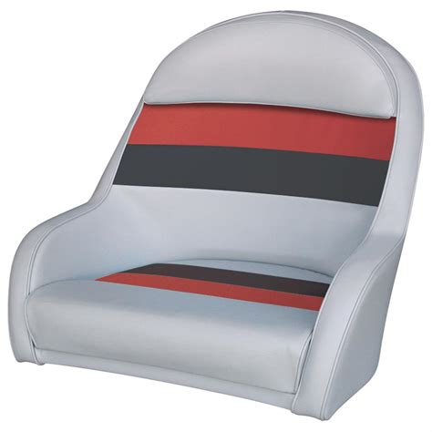 pontoon captain seats wise 174 deluxe pontoon captain s bucket seat 161004
