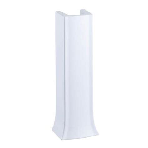 glacier bay aragon pedestal sink glacier bay shelburne aragon pedestal in white l