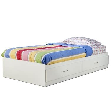 sand castle pure white kids twin wood mates storage bed 3 southshore logik twin mates bed with 2 drawers in pure