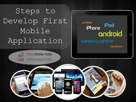 how to develop mobile application steps to develop mobile application