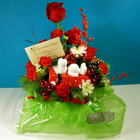 The Flower Garden Hartland Wi Peanuts Teleflora Bouquets Product Review Collectpeanuts
