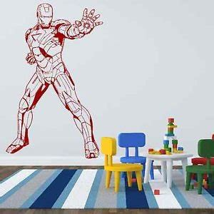 superheroes wall stickers iconic stickers iron 3 marvel fiction wall sticker decoration vinyl k35