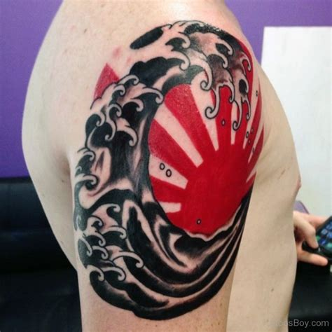 japanese tattoo red sun tattoos tattoo designs tattoo pictures page 4