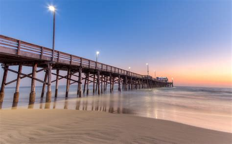 pier beach newport municipal beach newport beach ca california
