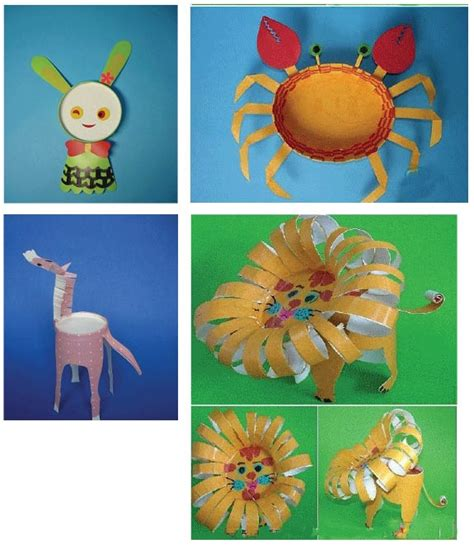 Paper Cup Animals Craft - paper cup animal crafts project kid