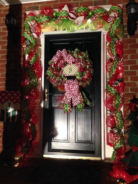 images  christmas front door  pinterest