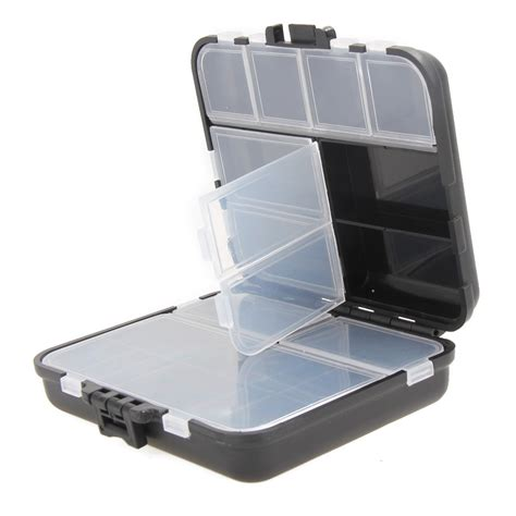 Light Weight 26 Compartments Storage Case Fly Fishing Lure Lights Storage