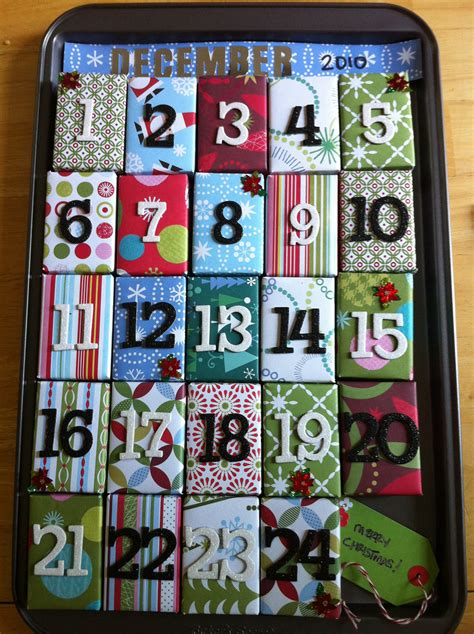 28 best christmas calendar gifts 25 diy christmas