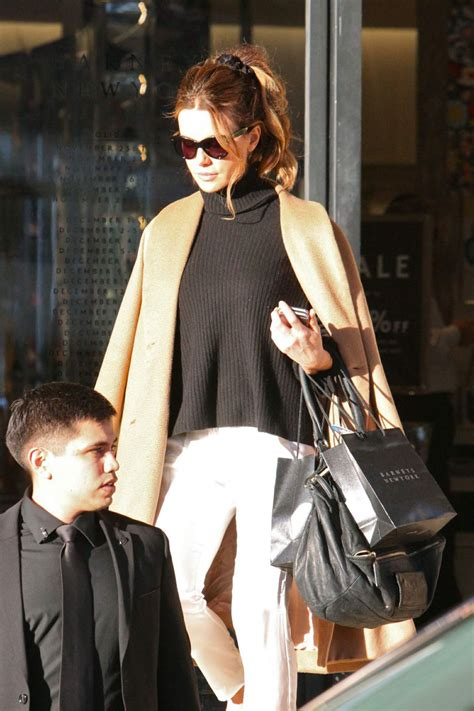 Kate Beckinsale Out And About by Kate Beckinsale Some Shopping While Out And About In