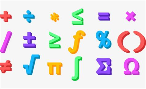 vector mathematical symbols mathematics symbol root