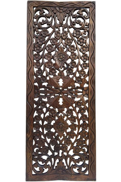 wall wood panel wall mounted decorative panel wood floral wood carved wall panel wood wall decor for sale
