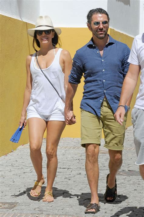 Longoria Is And Tiny by Longoria Shows Legs In Tiny White Shorts
