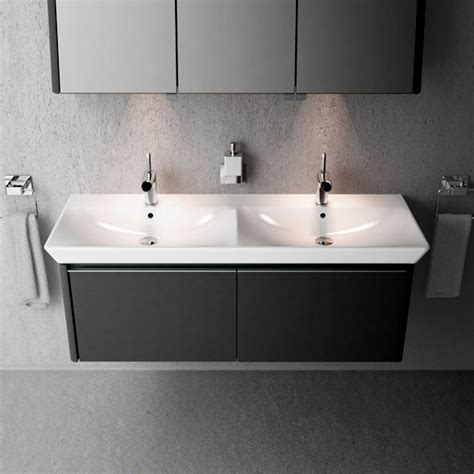 Vanity Basin Units Vitra T4 Double Basin Uk Bathrooms