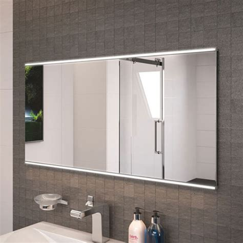 Large Illuminated Bathroom Mirrors Large Illuminated Mirror